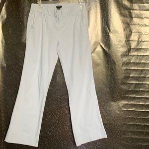 J. Crew- Light Blue Pants size 2 short